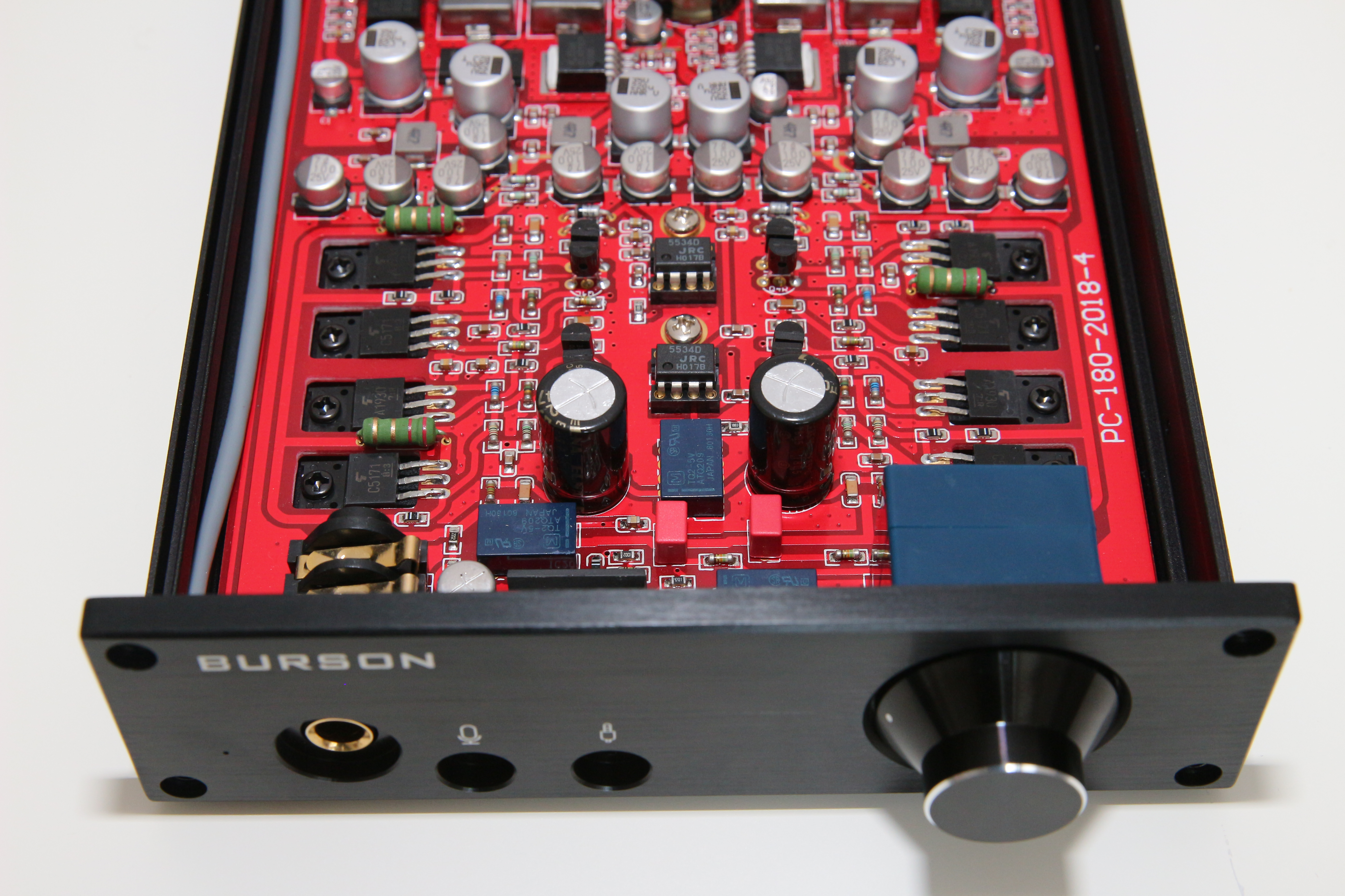 Burson Audio Fun Reviews Headphone And Discussion Head Dual Ne5532 Subwoofer Processing Circuit Low Pass Filter Board 5 Transient Response